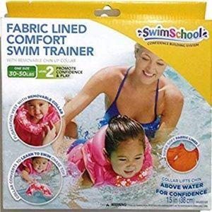 Fabric Lined Comfort Swim Trainer Level 2 Pink